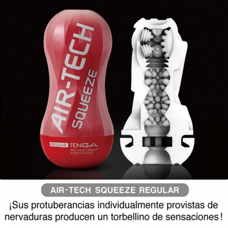 Masturbador Air Tech Squeeze Regular