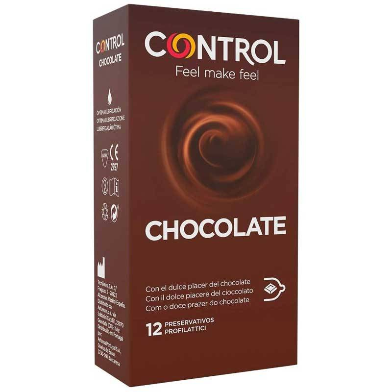 Preservativos Control de Chocolate