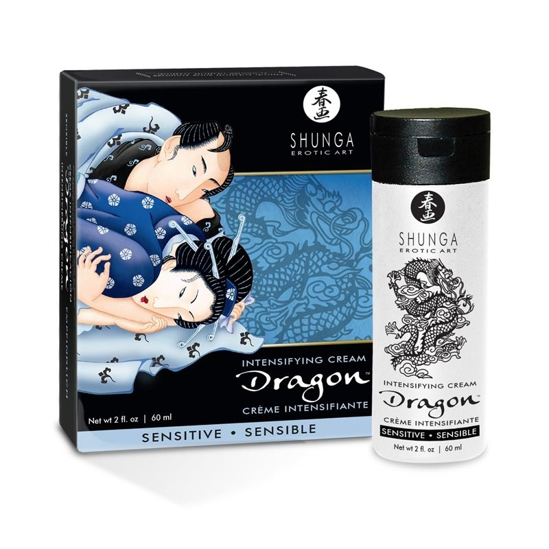 Crema Dragón Sensitive de Shunga